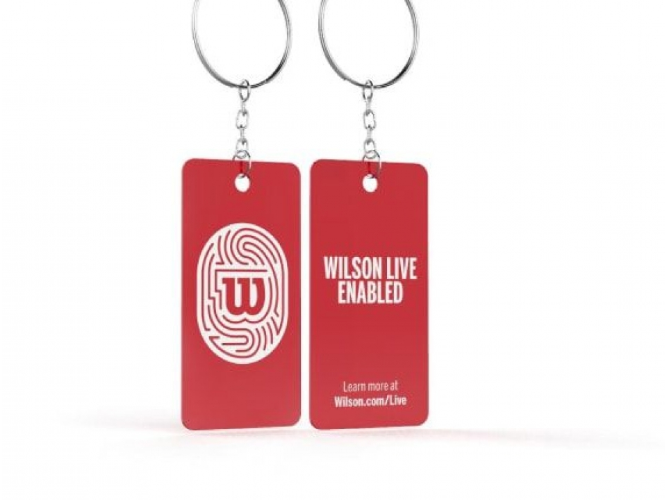Free Keychain From Wilson Live
