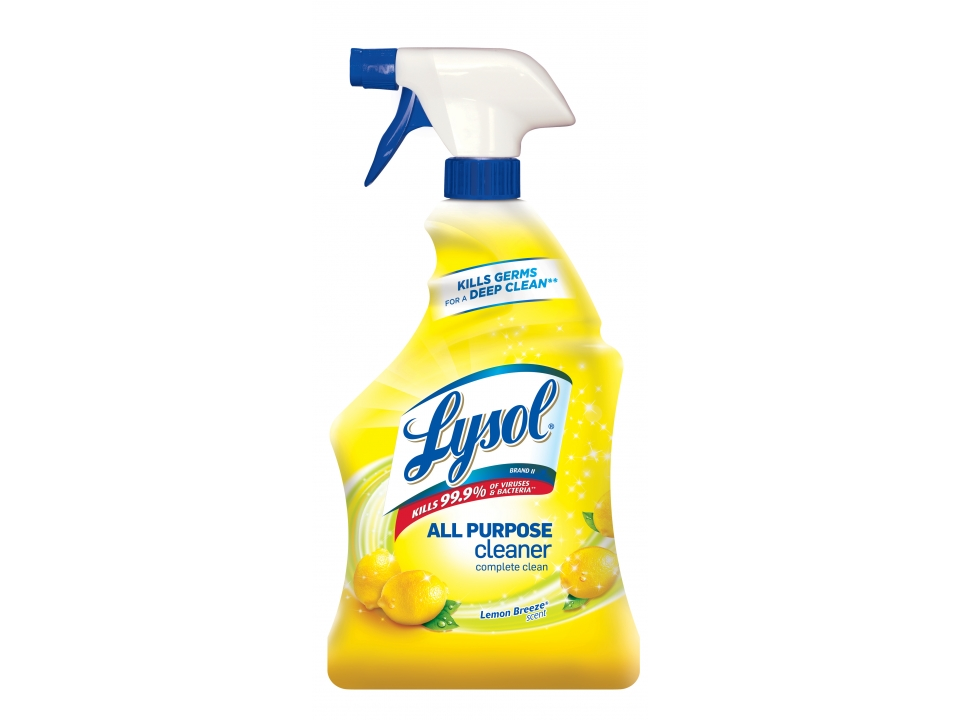 Free Lysol All-Purpose Cleaner, Lemon Breeze, 32 Oz From Staples!
