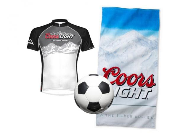 Free Soccer Jersey, Sports Towel Or Soccer Ball From Coors!