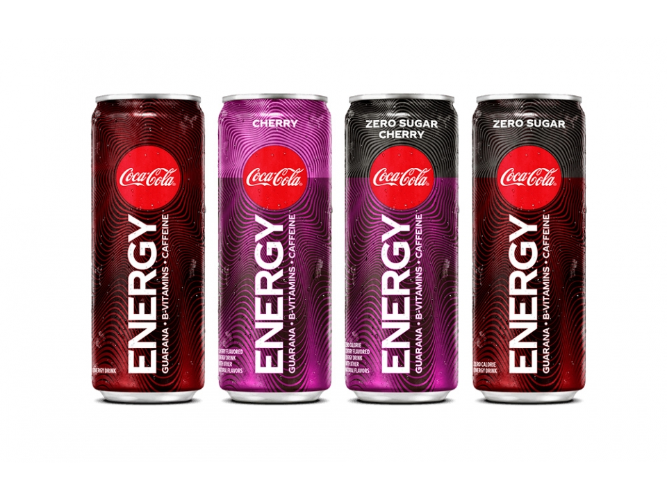 Free Coca Cola Energy Drink!