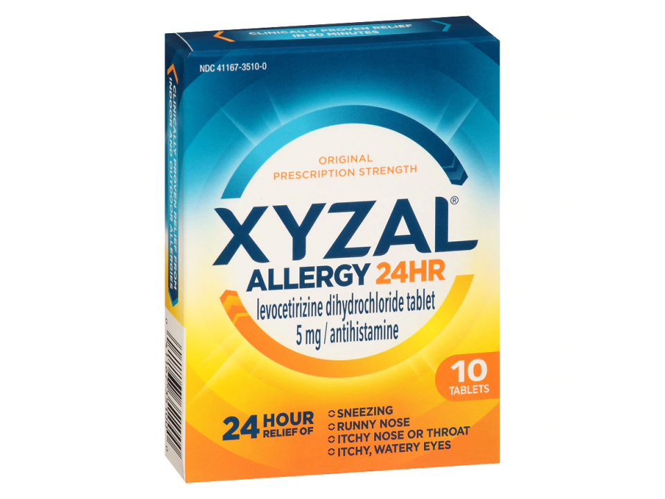 Free Allergy Relief By Xyzal
