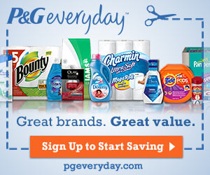 Get Coupons And Savings From P&G Everyday!