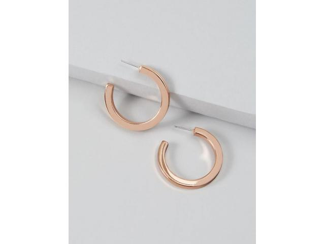 Free Thick Open Hoop Earrings From Lane Bryant!