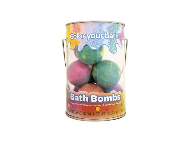 Free Crayola Color Your Bath Bucket Bath Bomb!