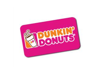 Free DD Gift Card From Dunkin' Donuts!