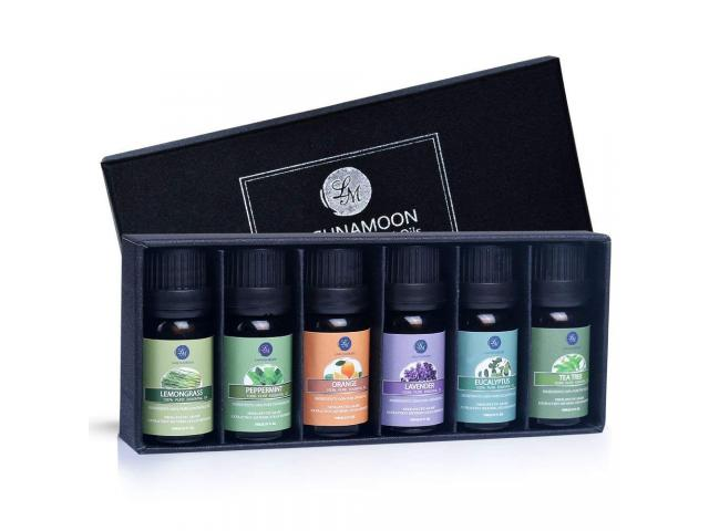 Free Essential Oils Top 6 Gift Set Pure Essential Oils From Lagunamoon!